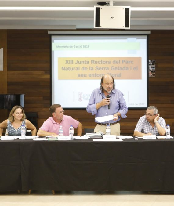 L'Alfàs acoge la asamblea anual de la Junta Rectora del Parc Natural de la Serra Gelada