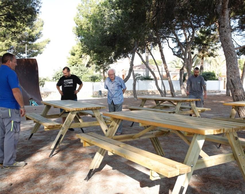 mesas parque johan galtung