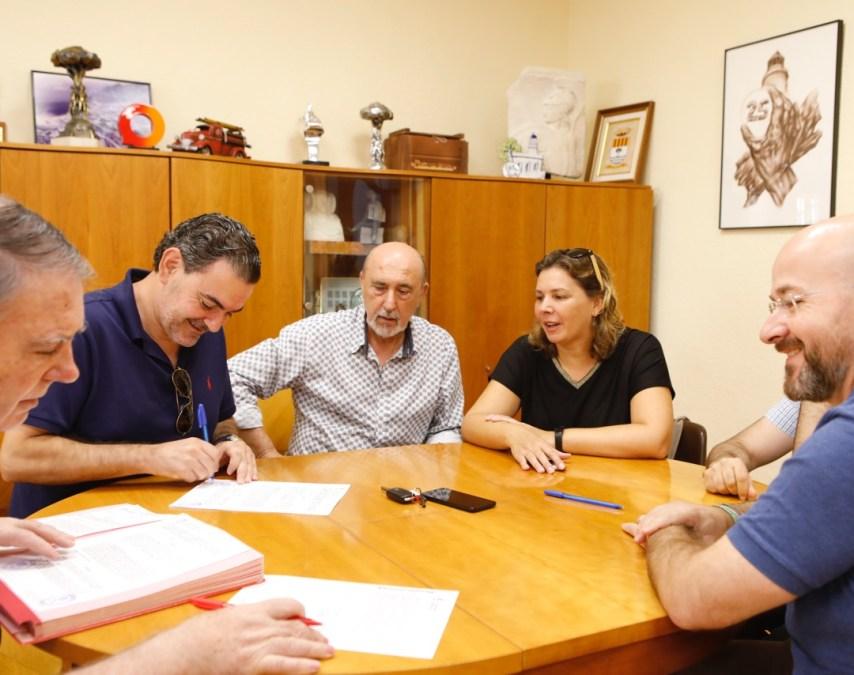 El Ayuntamiento de l'Alfàs del Pi renueva el convenio de colaboración con cuatro entidades culturales