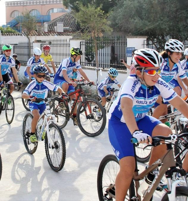 """El domingo 1 de octubre se celebrará   en el día de la bicicleta y la fiesta """"l'Alfàs más deporte"""""""