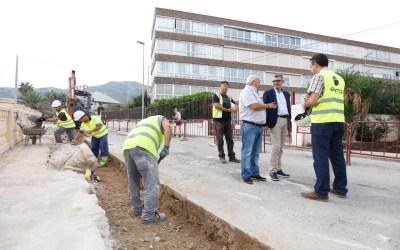Arrancan en l'Alfàs del Pi las obras de renovación de la red de agua potable del Camí Vell del Far