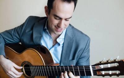 El guitarrista norteamericano Adam Levin impartirá una clase magistral en l'Alfàs del Pi