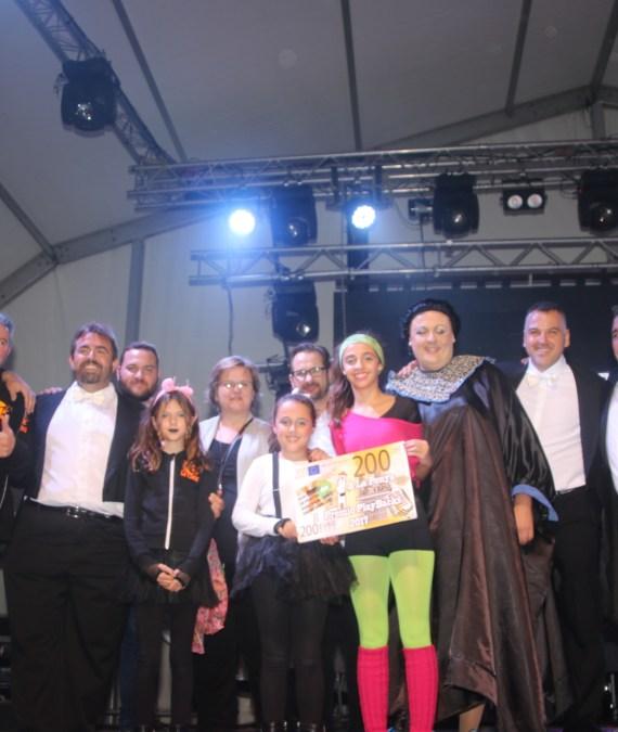 La peña la Clau ganadora del concurso de Playbacks de l'Alfàs con una sublime Montserrat Caballé