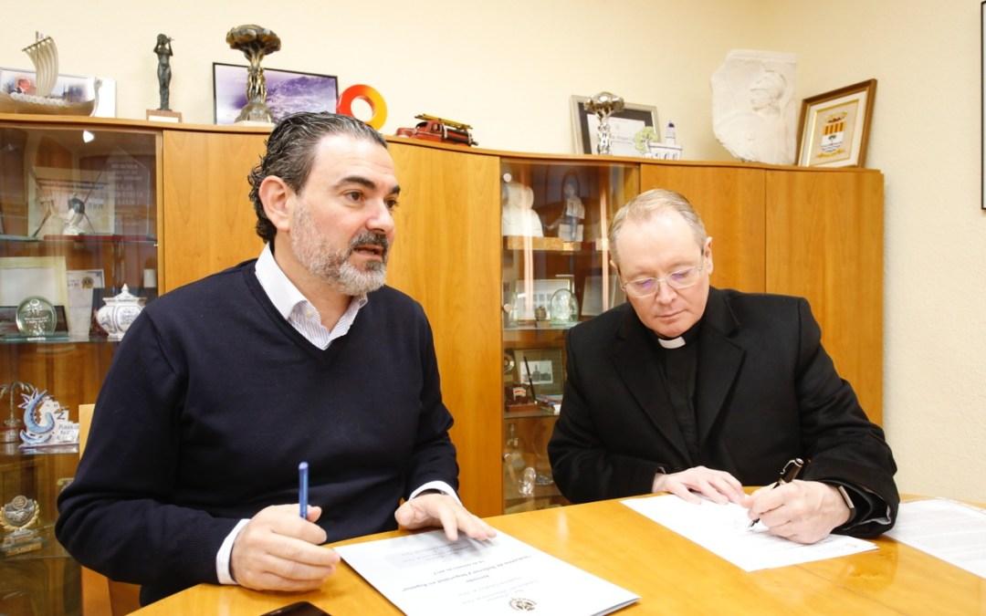 El Ayuntamiento de l'Alfàs y la parroquia San José renuevan el convenio de colaboración