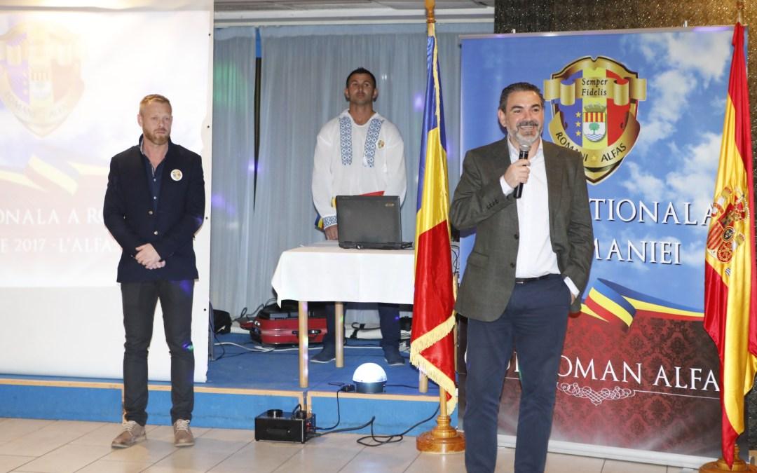 L'Alfàs celebra el Día Nacional de Rumania
