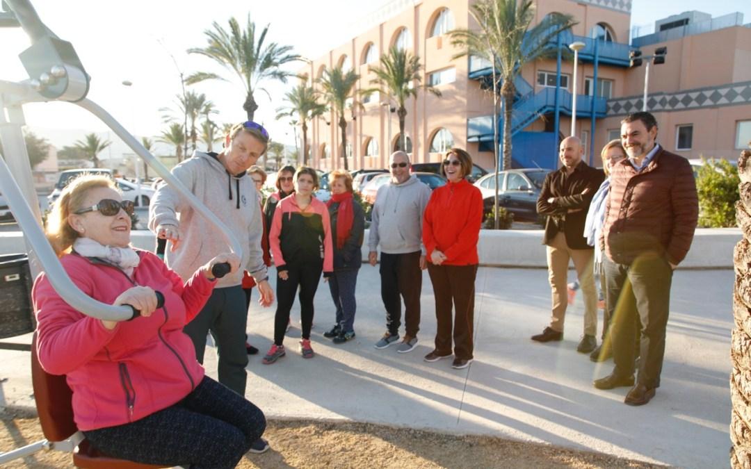 El Ayuntamiento de l'Alfàs crea un circuito biosaludable en la avinguda dels Esports
