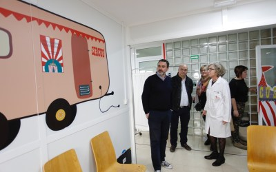 El Ayuntamiento de l'Alfàs sufraga la decoración de la nueva área de urgencias pediátricas del Hospital Marina Baixa