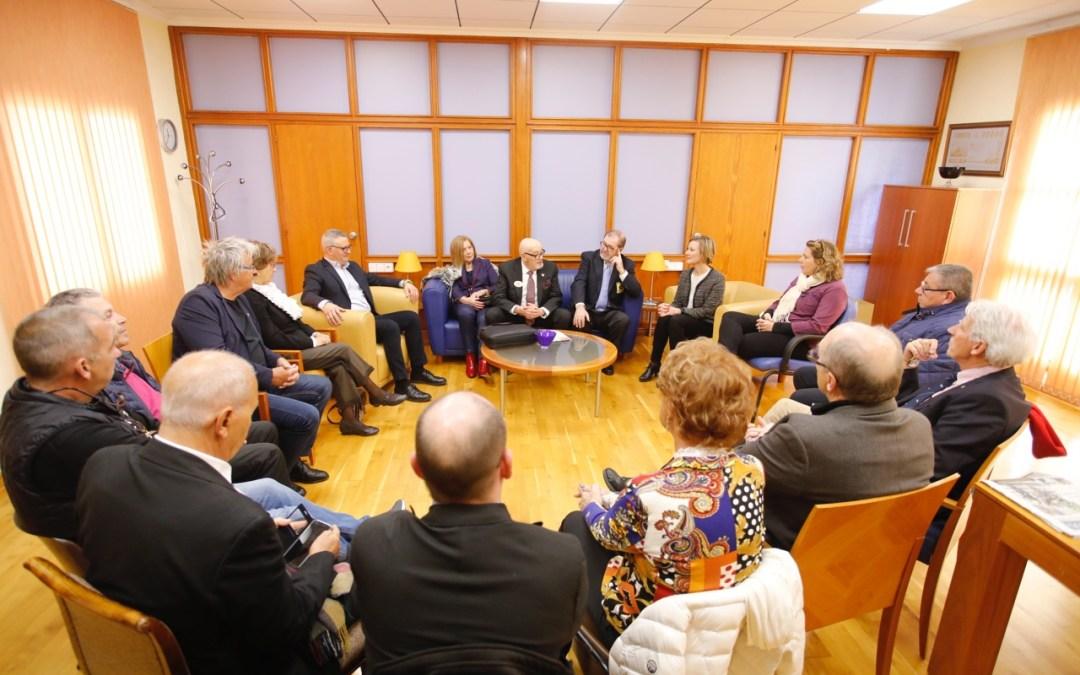Visita del Gobernador del Club de Leones a l'Alfàs