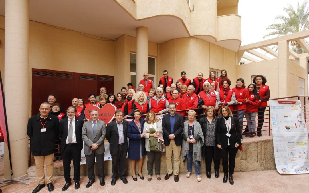 Cruz Roja abre por primera vez un punto de atención en l'Alfàs