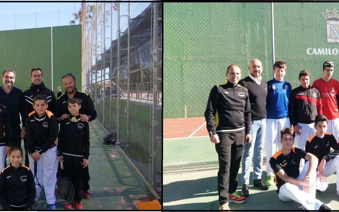Mas de 200  jugadores de frontenis participaron en la jornada dels Els Jocs Esportius que se celebró en l'Alfàs y La Nucía