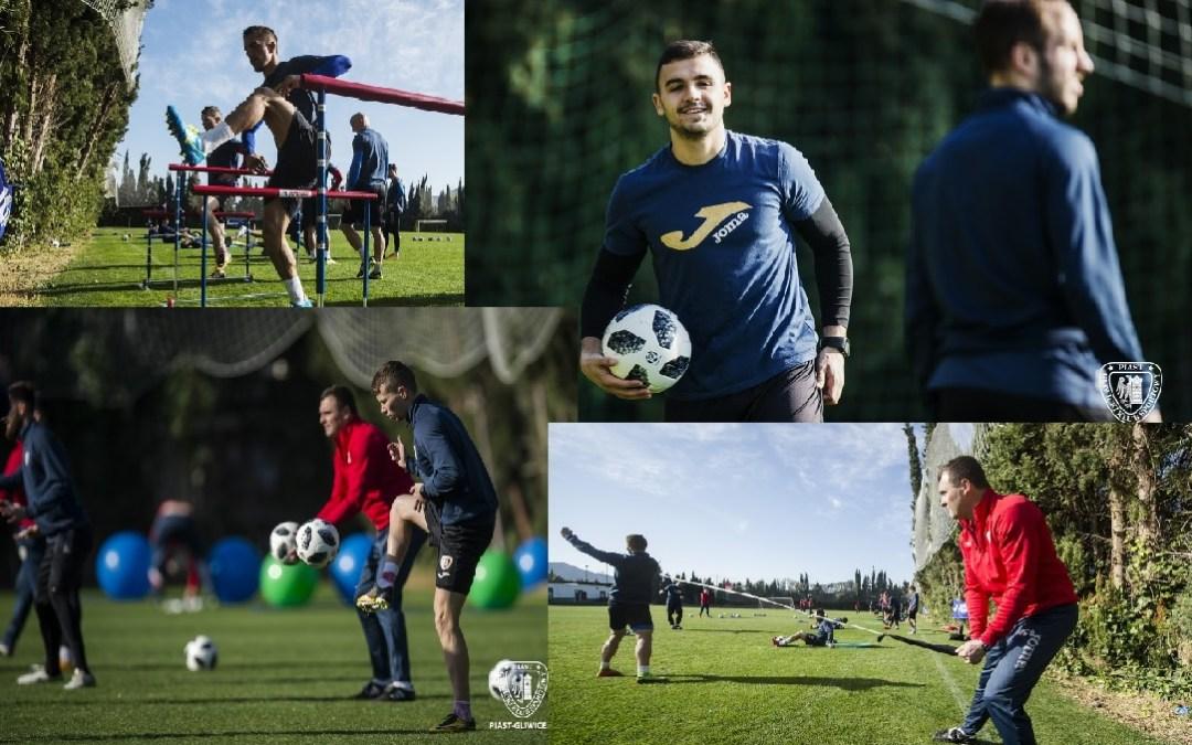 Dos equipos Polacos y uno Chino de primera división entrenan en l'Alfàs del Pi .