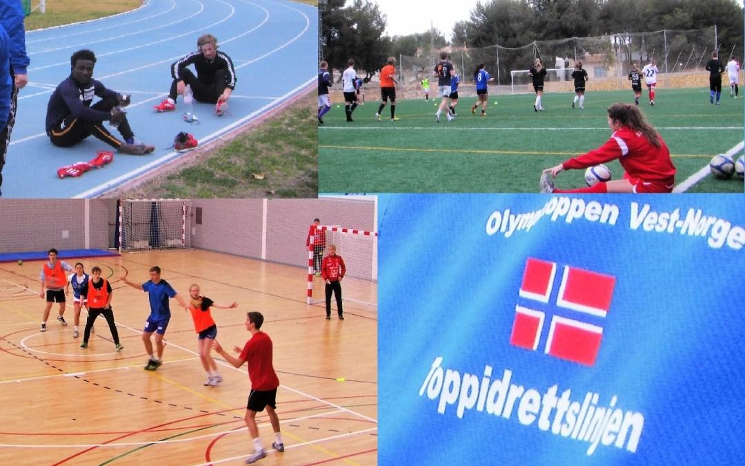170  Alumnos de las escuelas Toppidrettslinjen de Bergen y Toppidretts-gymnnas de Haugesund, repiten estancia en l'Alfàs del Pi.