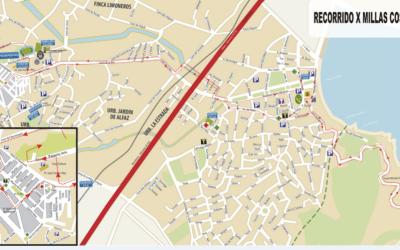 La concejalía de Seguridad informa de los cortes de tráfico del 17 de marzo