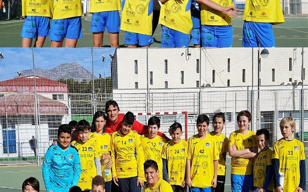 Dos equipos de balonmano de l'Alfàs del Pi quedan campeón y subcampeón de sus ligas.