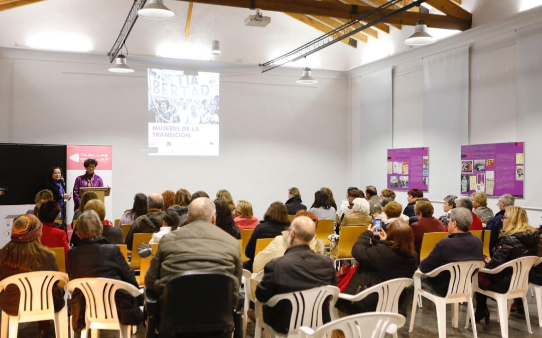 El Espai Cultural Escoles Velles acoge la exposición 'Mujeres de la Transición'