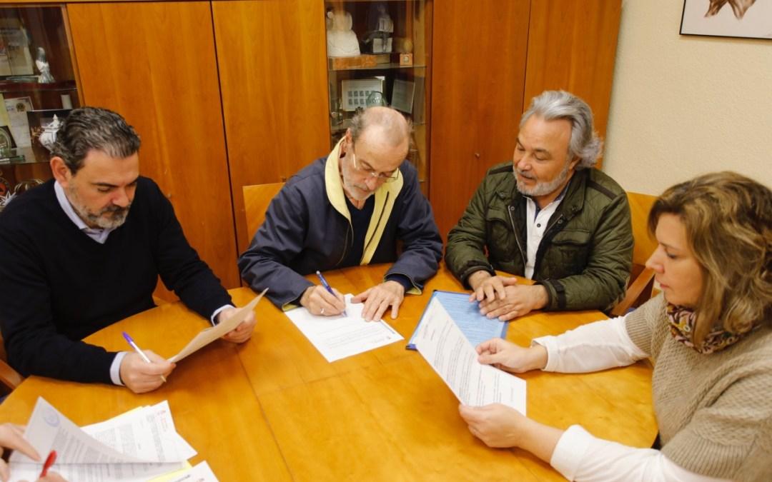 """L'Alfàs renueva el convenio suscrito con la Coral Polifónica """"L'Alfàs Canta"""""""