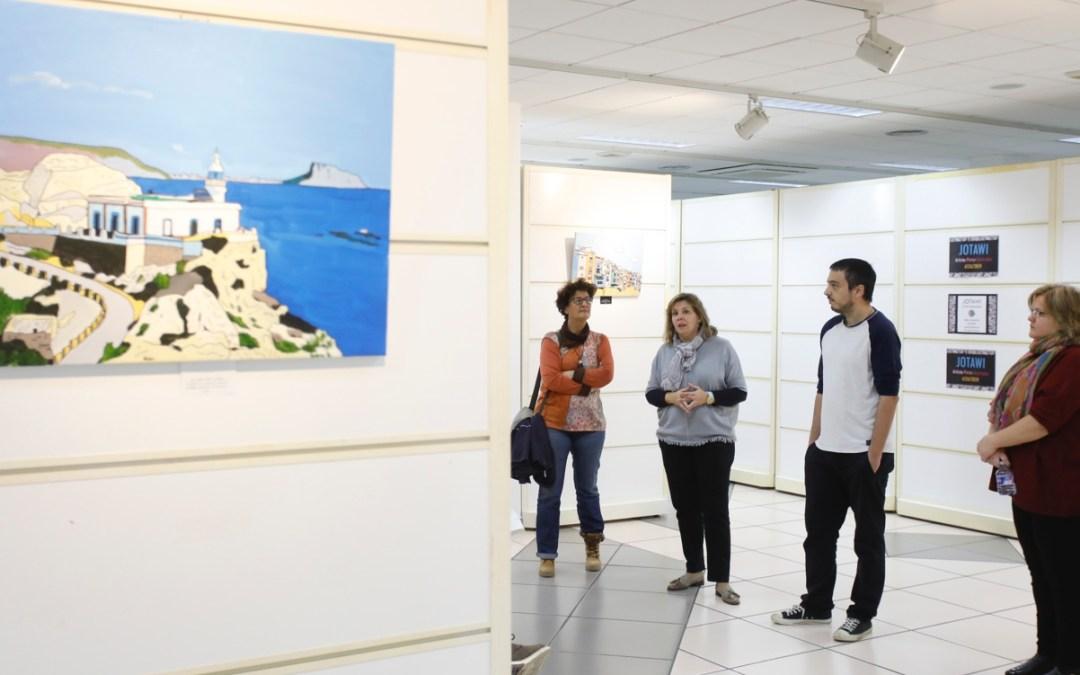 """""""JOTAWI"""" expone en l'Alfàs una muestra de su obra pictórica"""