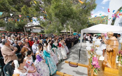 L'Alfàs del Pi, La Nucía y Altea celebran el Día de Sant Vicent Ferrer en la ermita del Captivador