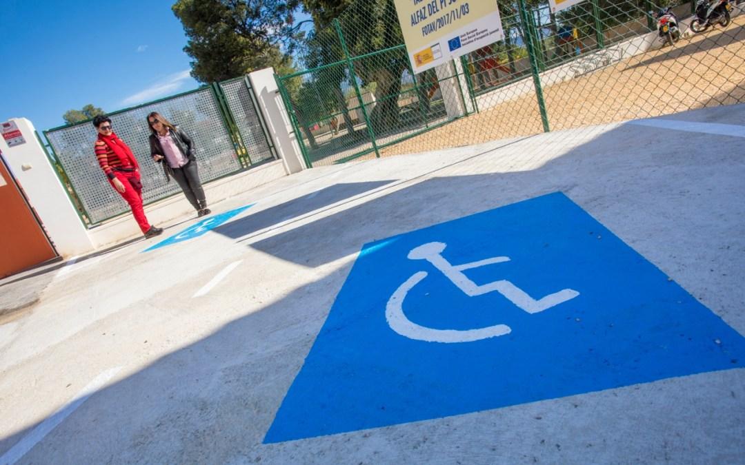 El CFO suma dos plazas de aparcamiento para personas con problemas de movilidad