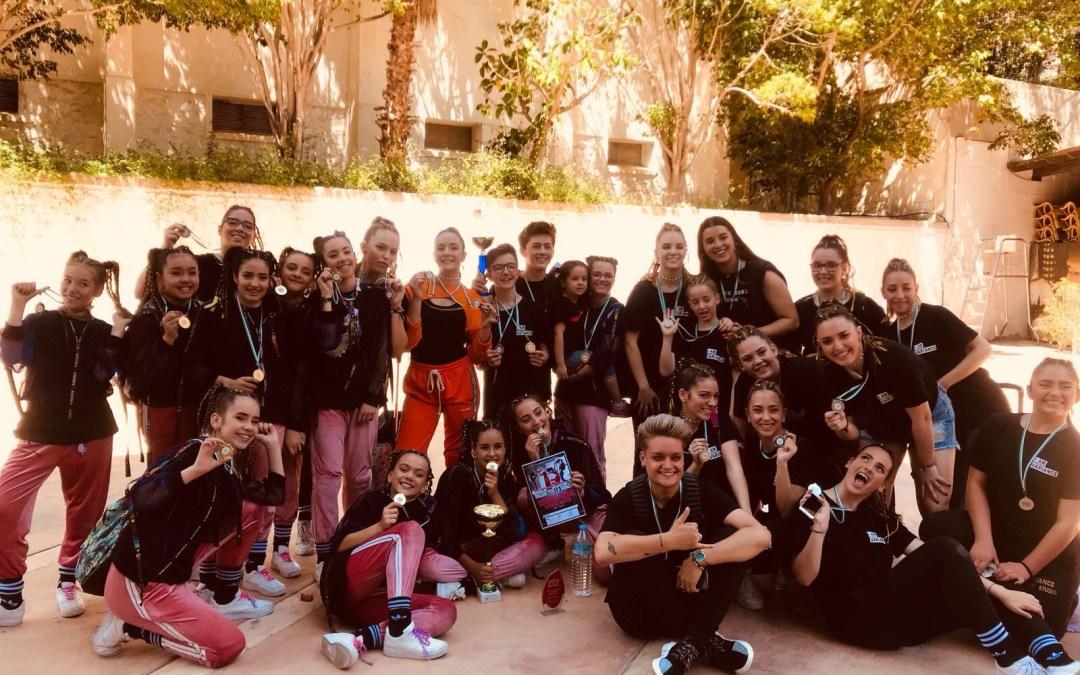El estudio de Danza de l'Alfàs del Pi Variance se proclamó campeón  en categoría juvenil y subcampeón de Amateur .