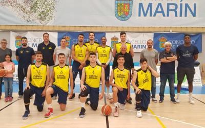 El Parc Natural Serra Gelada de basket se queda a una canasta del ascenso a LEB plata en Marín , Pontevedra.