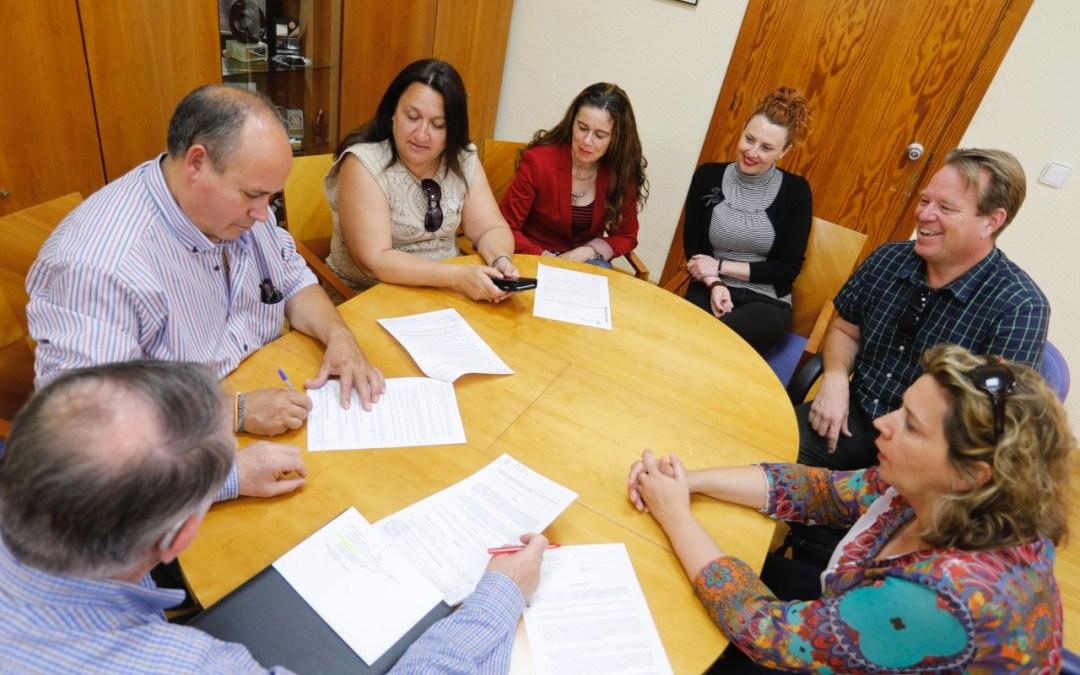 El Ayuntamiento de l'Alfàs colabora con las principales asociaciones empresariales de la comarca