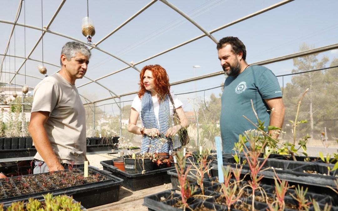 El CIPM Los Carrascos de l'Alfàs se convierte en modelo de conservación de la flora silvestre de la Comunitat