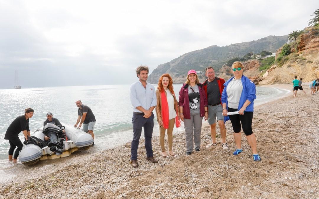 Comienza en l'Alfàs una expedición internacional para la protección de las islas del Mediterráneo