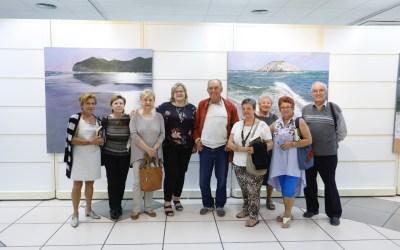 Exposición de Antonio Espejel en la Casa de Cultura de l'Alfàs