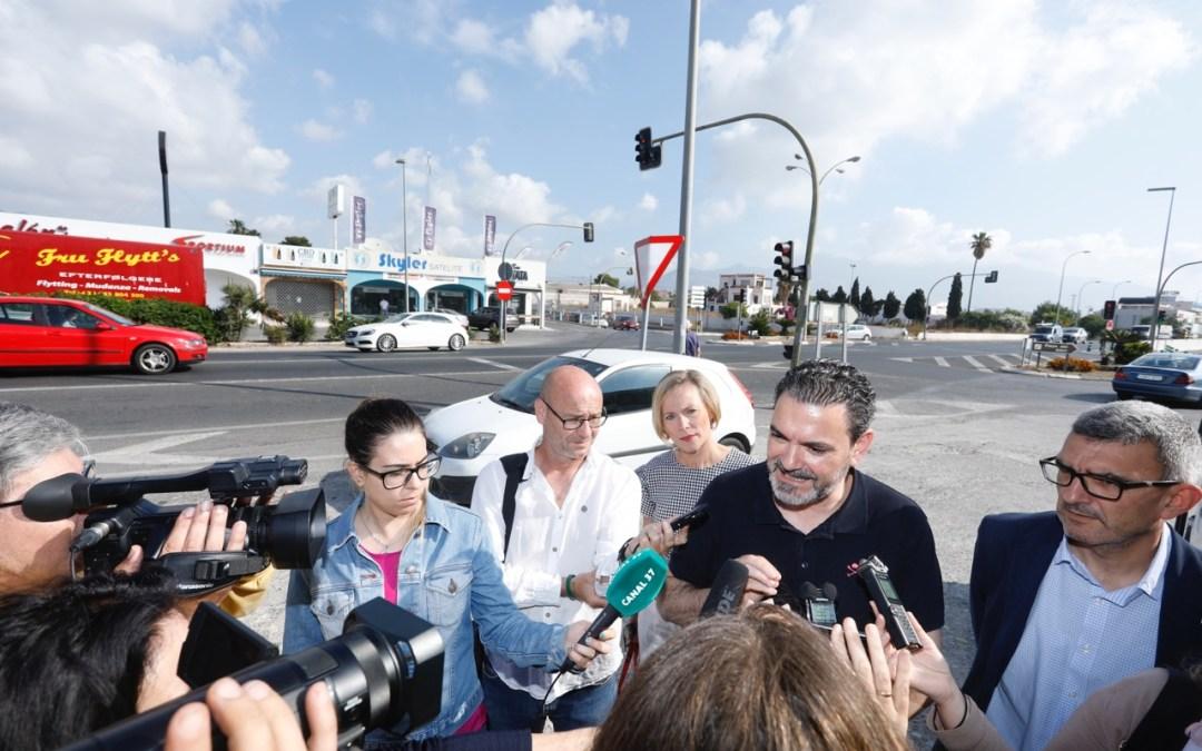 L'Alfàs consigue una nueva ayuda europea de 443.000 euros para la  pasarela de la N-332