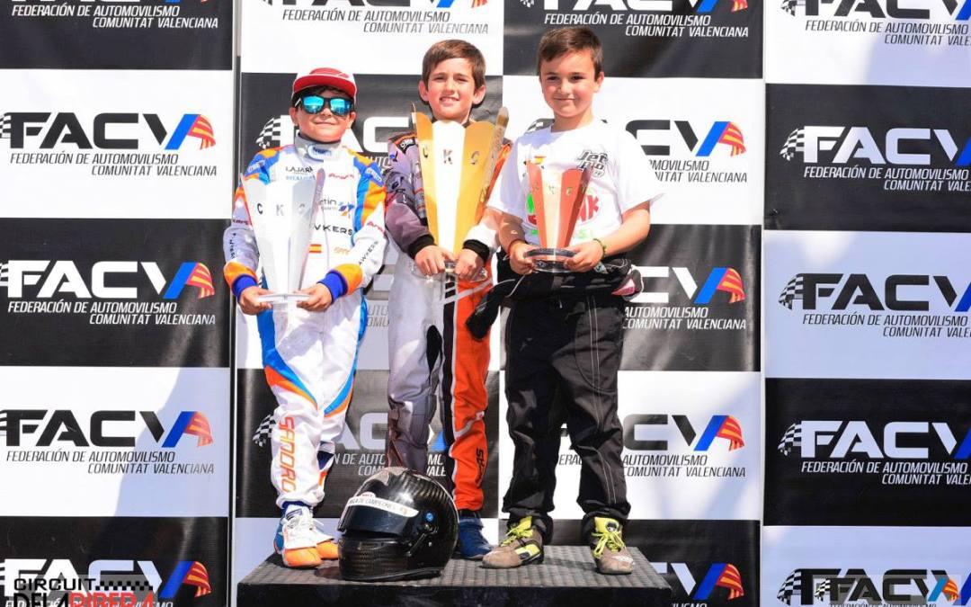 Oliver Claeys consigue otro tercer puesto  en el Campeonato Autonómico de Karts.
