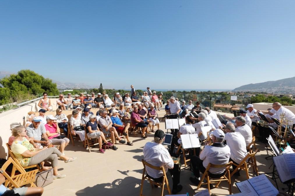 La banda de jubilados de Drammen ofrece dos conciertos en l'Alfàs del Pi