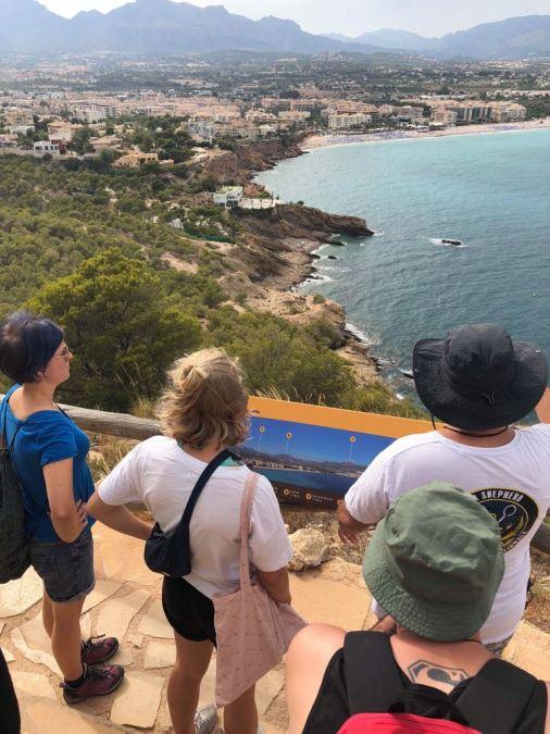 L'Alfàs del Pi se convierte en epicentro del voluntariado juvenil internacional