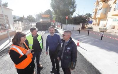 Con el asfaltado concluyen las obras del barrio noruego de l'Alfàs