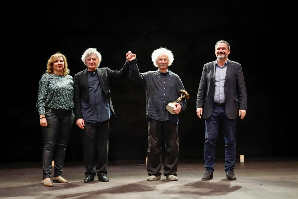 El actor Rafael Álvarez 'El Brujo' recibe el Pi d'Honor 2019 de la Mostra de Teatre de l'Alfàs