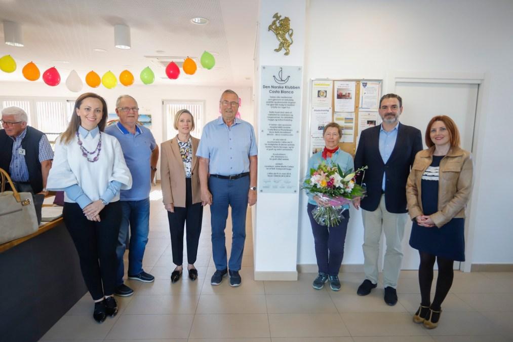 El Club Noruego de l'Alfàs del Pi celebra el quinto aniversario de su actual emplazamiento