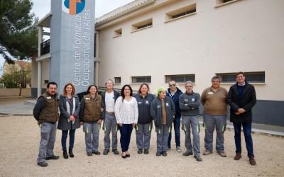 Clausura del programa Escola d'Ocupació Et Formem de l'Alfàs