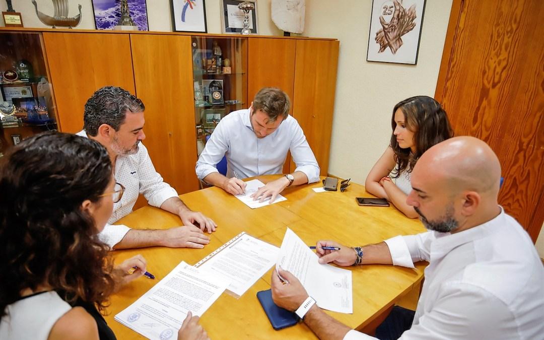 El Ayuntamiento de l'Alfàs mantiene la colaboración  con Avibe a través de un convenio firmado hoy