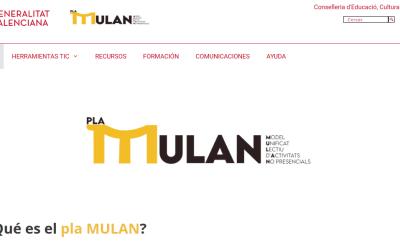 Educación aplaude los esfuerzos de la Generalitat por mejorar el plan MULAN de formación a distancia