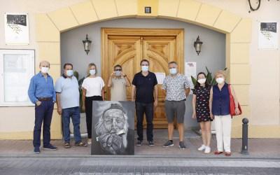 Naos Beltrán subasta un óleo para colaborar con el Voluntariado Social de l'Alfàs del Pi