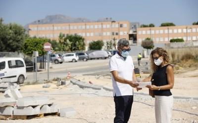 En marcha las obras de ampliación de la Avenida Corts Valencianes de l'Alfàs