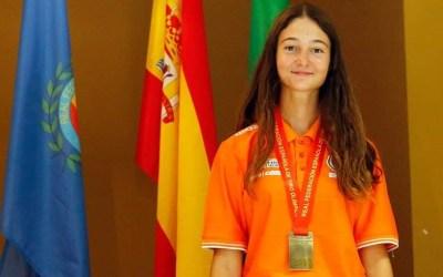 La alfasina Paula Morcillo se proclama en Granada Campeona de España Juvenil de Tiro al Plato