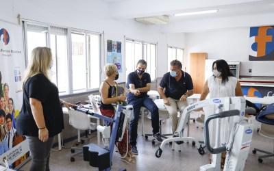 El CFO de l'Alfàs dispone de dos nuevas grúas de transferencia para los cursos de atención a dependientes
