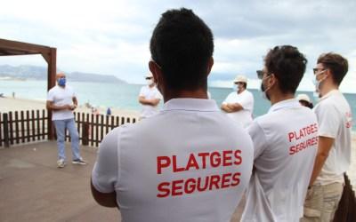 Luis Morant ha agradecido la entrega de los 10 jóvenes informadores que han trabajado  este verano en la playa de l'Albir