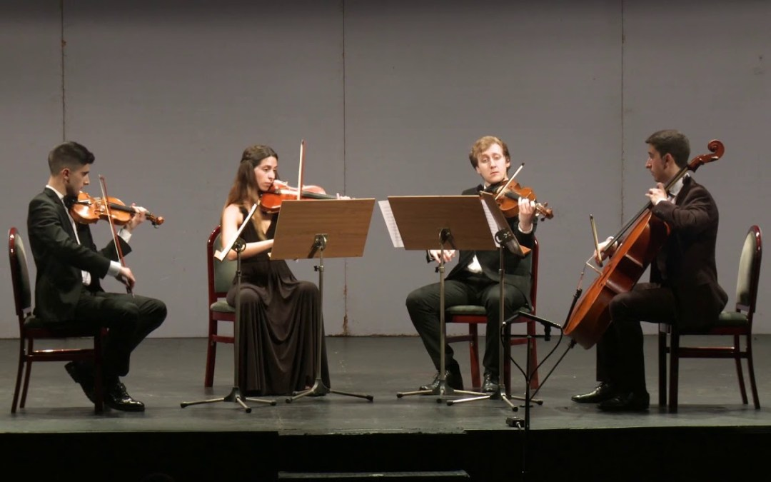 El Cuarteto de Cuerda de la Orquesta Filarmónica de la UA ofrecerá en noviembre un concierto en l'Alfàs