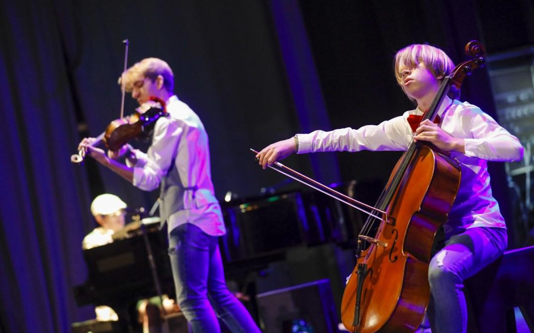 Finaliza Mozartmanía 2020 con el concierto de Violoncheli Brothers & Chafer Jazz Trio