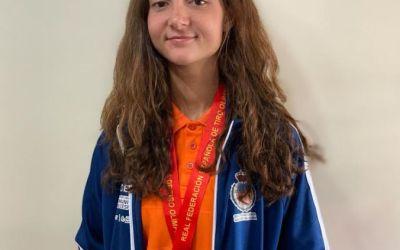 Paula Morcillo se proclama campeona en cuarta categoría en el Campeonato Nacional de Foso Olímpico