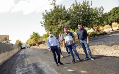 L'Alfàs finaliza las mejoras en la red de pluviales del Parque Sant Pere de l'Albir