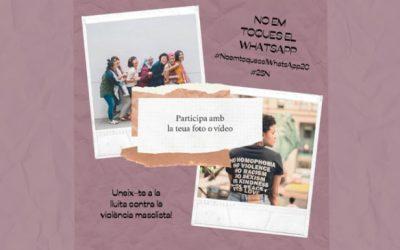 La concejalía de Juventud de l'Alfàs se suma al concurso del IVAJ en redes #NoemtoqueselWhatsApp