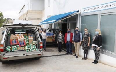 El Centro de Innovación Musical de l'Alfàs dona más de 1.000 kilos de alimentos al Voluntariado Social